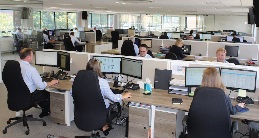 Image showing tradepumps.com sales office and team